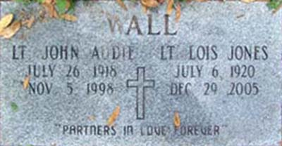 Lois J. Wall Grave Marker