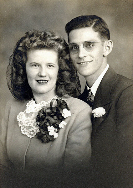 Joseph & Mary Hammes Wedding Picture