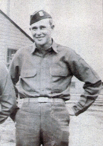 Icam H. McCullough in Uniform