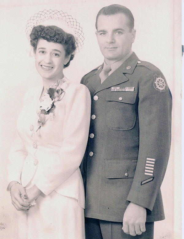 Leo M. Scully Wedding Picture