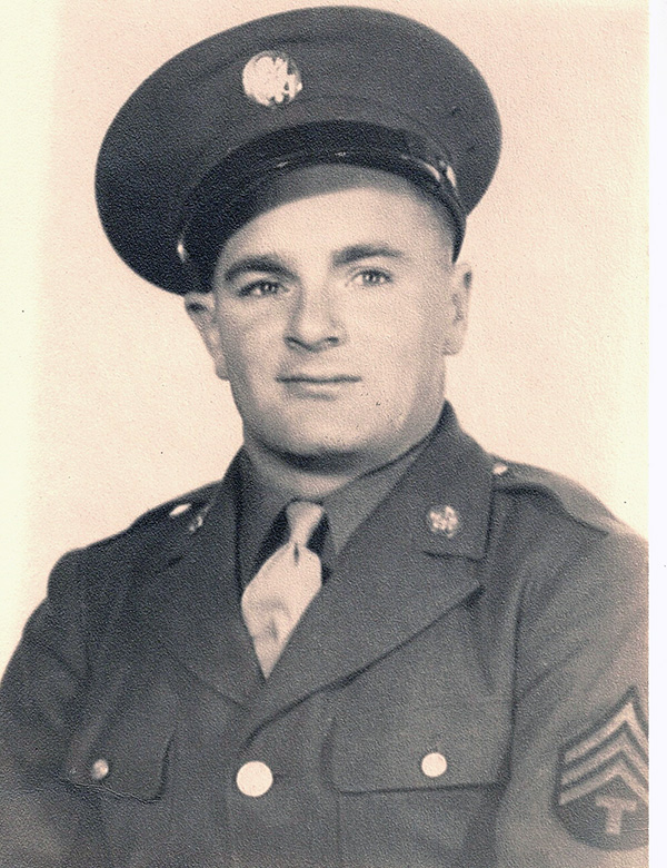 Leo M. Scully Official Army Picture