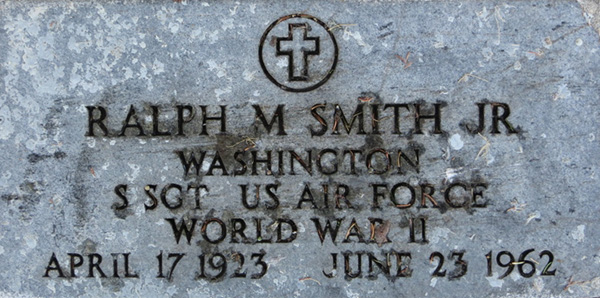 Ralph M. Smith, Jr. Grave Marker